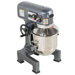 10 Qt. Electric 3-Speed Commercial Planetary Stand Mixer wit