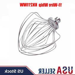11-Wire Whip For KitchenAid 5 & 6 QT Lift Stand Mixer KV25G