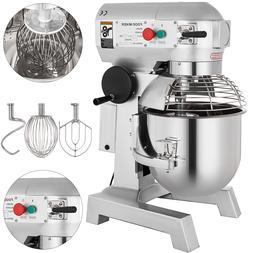 15Qt Electric Food Stand Mixer Dough Mixer Bread 600W restau