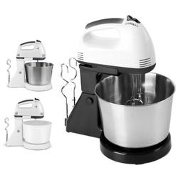 2 in 1 Stand Mixer 7-Speed 180W Electric Detachable Handle w