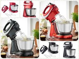 2 in 1 stand mixer & hand mixer food blender with dough hook