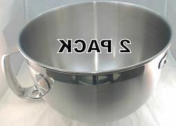 2 Pk, KitchenAid Stand Mixer 6QT S.S. Bowl, AP4507763, PS237