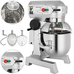 30Qt 1.5HP Electric Food Stand Mixer Dough Mixer Cooking res