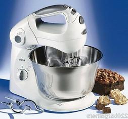 Oster 2601 New 220 Volt Stand Mixer with St Steel Bowl 220v