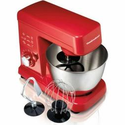 3.5 Quart Orbital Stand Mixer,3 Attachments ,6 Speeds,Stainl