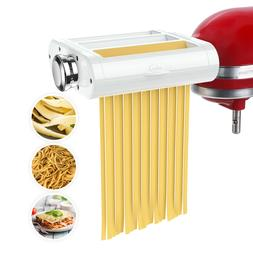 Antree 3 in 1 Pasta Roller Cutter Attachment for Kitchenaid