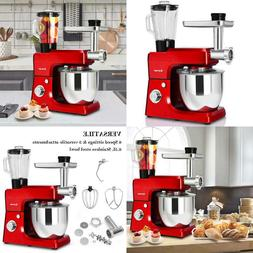 Costway 3 In 1 Upgraded Stand Mixer With Stainless Steel  BR