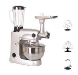 3 In 1 Upgraded Stand Mixer with 5.5QT Stainless Steel Bowl