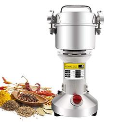 300g Electric Grain Mill Spice Herb Grinder Pulverizer super