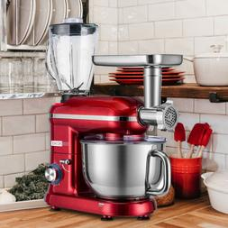 VIVOHOME 3In1 Stand Mixer Stainless Steel Bowl Meat Grinder