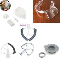 4.5 & 5 Qt Tilt-Head Beater,Wire Whip,Pouring Shield for Kit