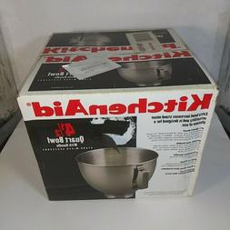 KitchenAid 4.5 Quart Stainless Steel Mixing Bowl with Handle