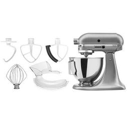 KitchenAid 4.5-quart Artisan Tilt-Head Stand Mixer Bundle w/