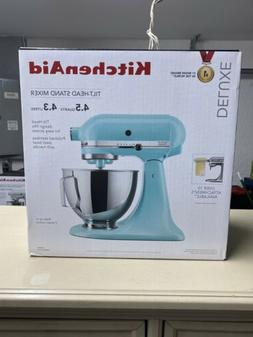 KITCHENAID 4.5 QUART TILT HEAD STAND MIXER MINERAL WATER BLU
