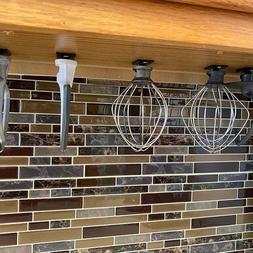 4 PACK Holder Organizer Storage Hanger For KitchenAid Mixer