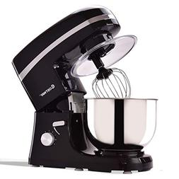 5.3 qt 800 W Electric Food Stand Mixer w/ Stainless Steel Bo