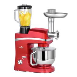 Litchi 5.3 Quart Stand Mixer-SM-1083/Red