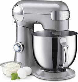 Cuisinart SM-50BC 5.5quart Stand Mixer Bchrome Appl Brushed