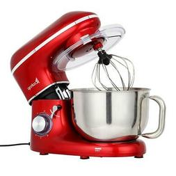 Zokop 5.8QT Stand Cake Mixer Electric Dough Whisk Stainless