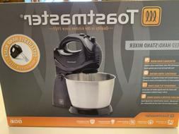 Toastmaster 5 Speed HAND/STAND MIXER 200W w/Stainless Mixing