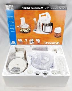 BRAVETTI 5 Speed Stand Mixer Stainless Bowl Food Processor S