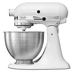 KitchenAid 5K45SSEWH Stand Mixer White 220 240 VOLTS 50 HZ 6
