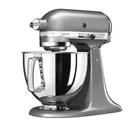 KitchenAid 5KSM125ECU Stand Mixer, 5-Qt, Silver Medallion, 2