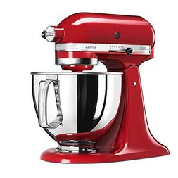 KitchenAid 5KSM125EER Stand Mixer, 5-Qt, Empire Red, 220 Vol