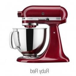 KitchenAid 5Qt Artisan Mixer-Ruby Red