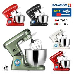 6.2QT 7QT Stand Mixer 6-Speed Electric Kitchen Tilt-Head Dou