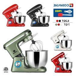 6.2QT 7QT Stand Mixer 6-Speed Electric Kitchen Tilt-Head Dou