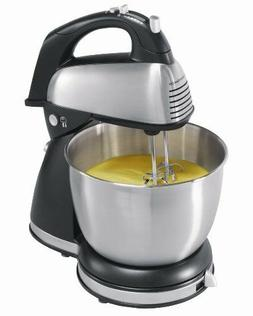 Hamilton Beach 6-Speed Classic Stand Mixer Stainless Steel 4
