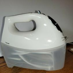 6 Speed Electric Hand Mixer 250W with Snap On Storage Case W
