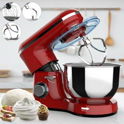 6 speed electric stand mixer 850w 7qt