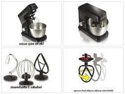 6-Speed Stand Mixer Hamilton Beach 63325 Kitchen Baking Blac
