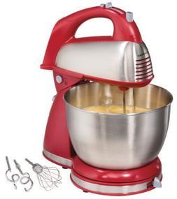 Hamilton Beach 6 Speed Stand Mixer Kitchen Baking Stainless