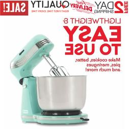 6 Speed Stand Mixer with 3 qt Stainless Steel Mixing Bowl, D