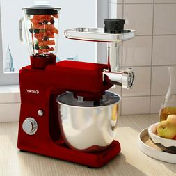 6 Speed Tilt Head Multifunctional Stand Mixer Blender Meat G