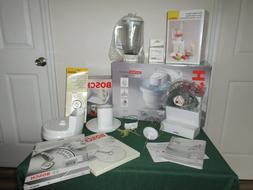 +7 Accs Bosch MUM4420 Compact Stand Mixer Blender Food Proce