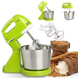 7 Speed Electric Egg Beater Dough Cakes Bread Egg Stand Mixe