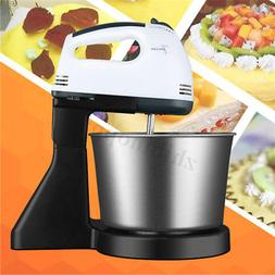 7 Speed Electric Food Stand Mixer Egg Beater Dough Whisk Han