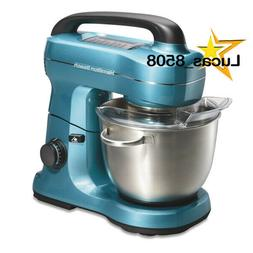 Hamilton Beach 7 Speed Stand Mixer, Blue | Model# 63393