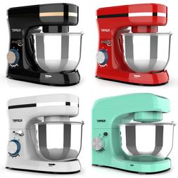 8 Speed Electric Countertop Food Stand Mixer Stainless Steel