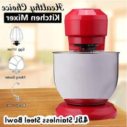 800W Powerful Stand Mixer 4.5L Large Capacity Cake Dough Hoo
