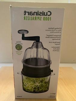Cuisinart - Food Spiralizer - Black Stainless