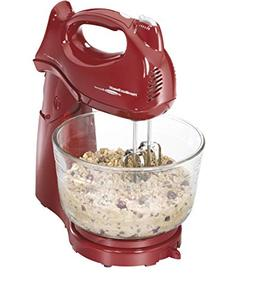 Hamilton Beach Power Deluxe 4-quart Red Stand Mixer Doubles