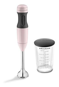 KitchenAid KHB1231PK 2-Speed Hand Blender, One Size, Pink