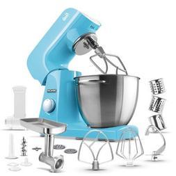 Sencor - Pastel Tilt-head Stand Mixer - Forget-me-not Blue