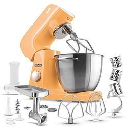 Sencor - Pastel Tilt-head Stand Mixer - Peach Orange