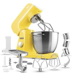 Sencor - Pastel Tilt-head Stand Mixer - Sunflower Yellow